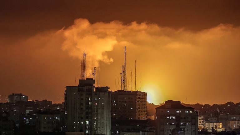 Военното крило на Хамас - Бригадите Ал-Касам, постави на Израел