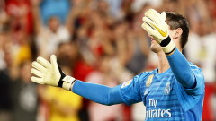 Контузия спира Тибо Куртоа за следващите два мача на Реал (Мадрид)