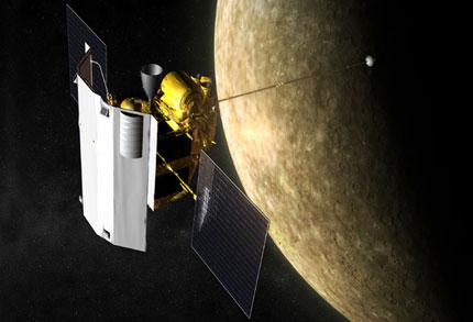 """Сондата """"Месинджър"""" приключи мисията си на Меркурий"""