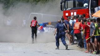 Тежък инцидент на рали Сливен - има пострадал