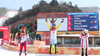 Шведката Фрида Хансдотер спечели златото в слалома