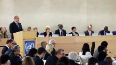 Радев в Женева: За защитата на човешките права е нужен дълготраен мир