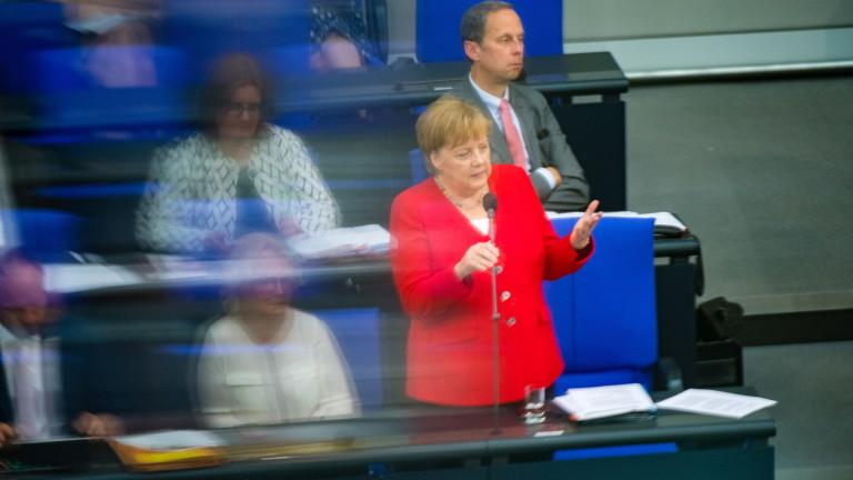 Канцлерът на Германия Ангела Меркел призна, че може да се