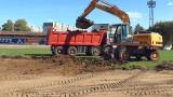 В Левски продължава мащабният ремонт на тренировъчната база