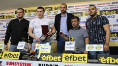 Иван Иванов и щангистите му обраха наградите за април