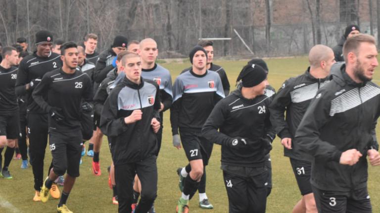Отборът на Локомотив поднови тренировки, след като през уикенда спечели