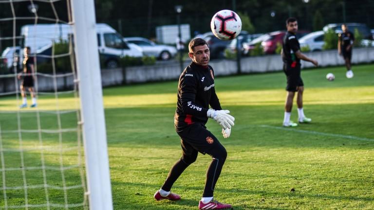 Христо Иванов стана най-възрастният дебютант в националния отбор