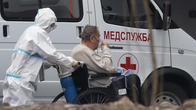Рязък ръст на починалите от COVID-19 в Москва през ноември
