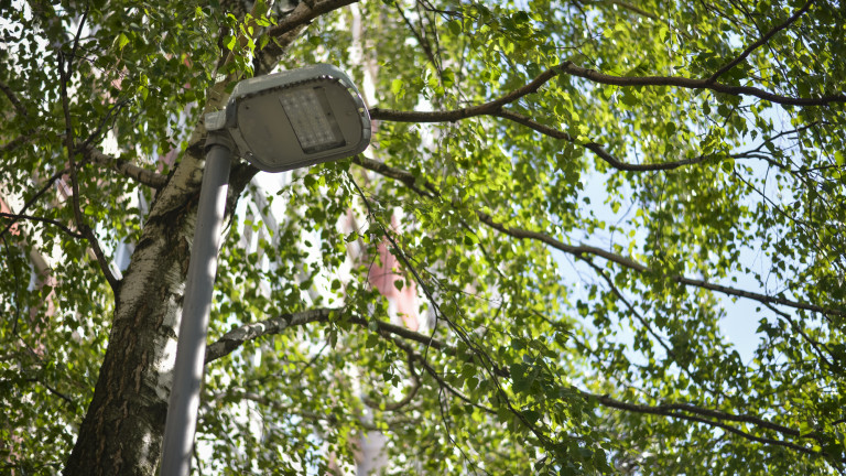 Снимка: В част от Горна Оряховица останаха без улично осветление