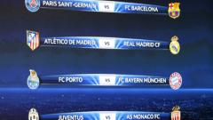 Реал срещу Атлетико - гвоздеят на четвъртфиналите в Шампионската лига