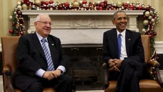 Обама обсъжда с Ривлин нова военна помощ за Израел