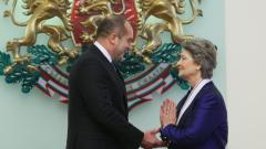 Мария Гигова е институция в спорта, похвали я президентът Радев