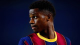 Ансу Фати е близо до нов договор с Барселона
