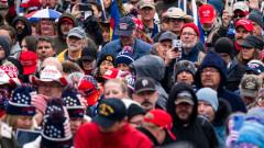 Сблъсъци между привърженици на Тръмп и полицията във Вашингтон, има арестувани