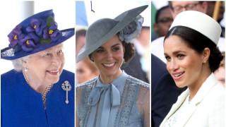 Защо дамите от кралския двор носят шапчици