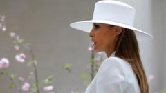 Мелания Тръмп, сребърната рокля и Бионсе