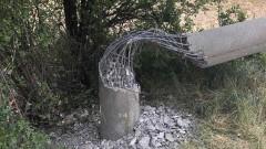 Потрошиха 10 електрически стълба в Софийско