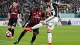 НА ЖИВО: Ювентус - Милан, инфарктен завършек на дербито в Торино!