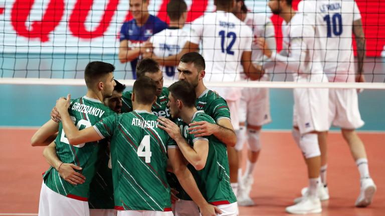 Днес от 20:30 часа българскяит национален отбор по волейбол ще
