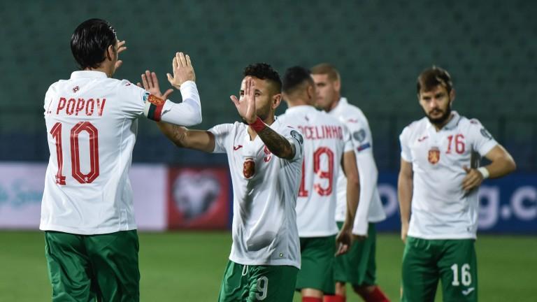 България - Чехия 1:0, гол на Божиков!