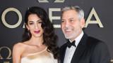За какво дари 100 хил. долара семейство Клуни