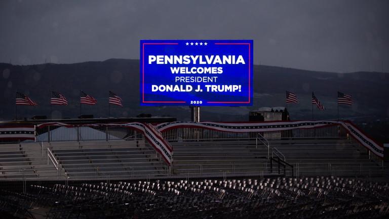 Доналд Тръмп май печели в ключови щати