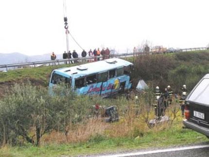 6 загинаха при катастрофа на полски автобус в Сърбия