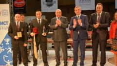 Спортният министър Красен Кралев награди на най-добрите спортисти на Варна за 2015 г.