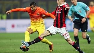 Барса с 4 нападатели срещу Милан