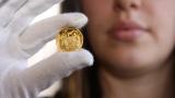Петкратен скок на продажбите на златни монети след срива на bitcoin