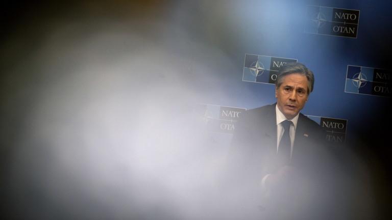 """В НАТО Блинкън предупреди Германия за """"Северен поток 2"""""""