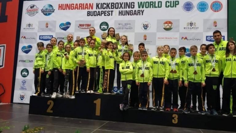 Отлично представяне записаха българските кикбосьори на Световната купа в унгарската