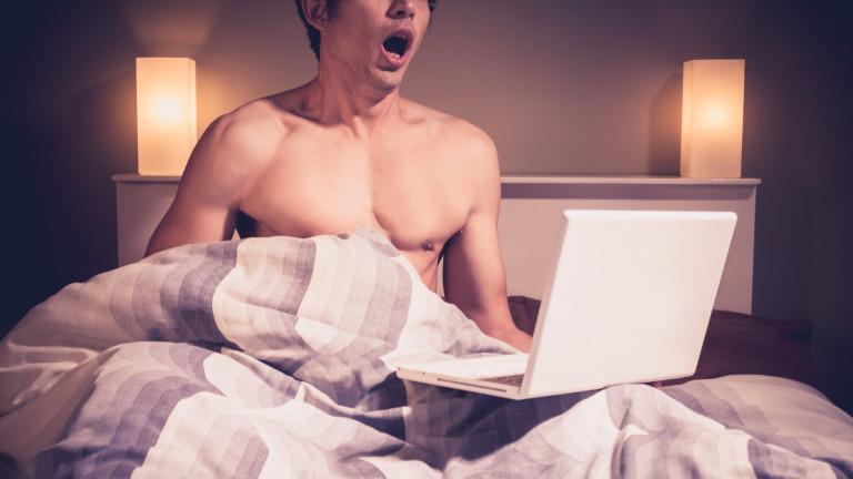 Един от всеки трима младежи вярва, че гледането на порно
