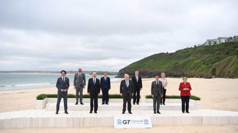 Г-7 с декларация за борбата с коронавируса в събота
