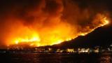 Черна гора гори, в Хърватия овладяха положението