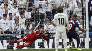 Куртоа неминуемо получава гол в домакински мачове вече 234 дни