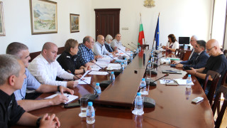 """Правосъдният министър се срещна с представители на Синдикат """"Охрана"""""""