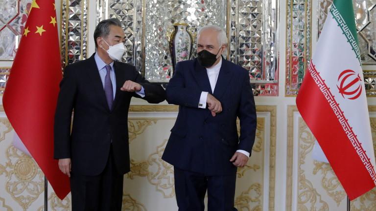 Иран и Китай сключиха 25-годишно споразумение за сътрудничество