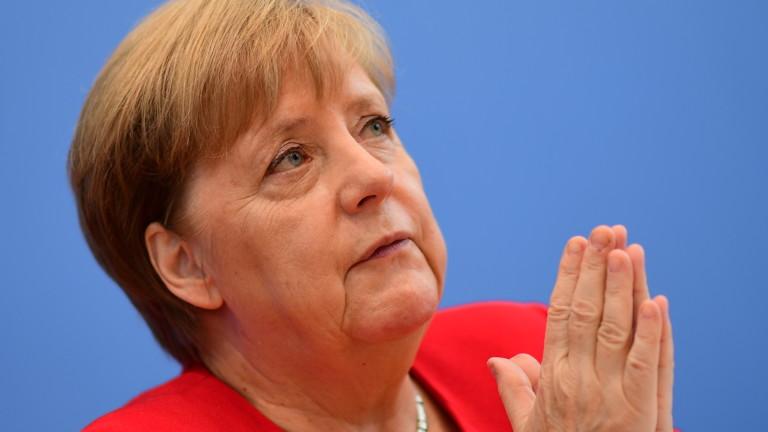 Германският канцлер Ангела Меркел обяви, че е в състояние да