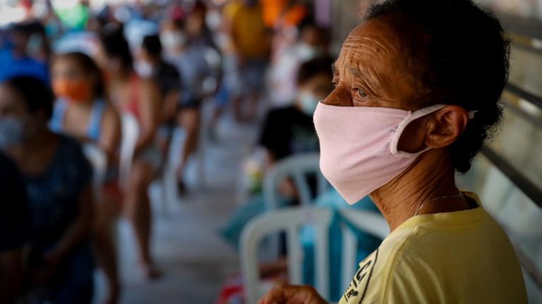 Очакват до 500 000 починали от коронавирус в Бразилия до юли
