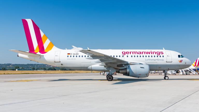 Коронавирусът приземи завинаги авиокомпания Germanwings