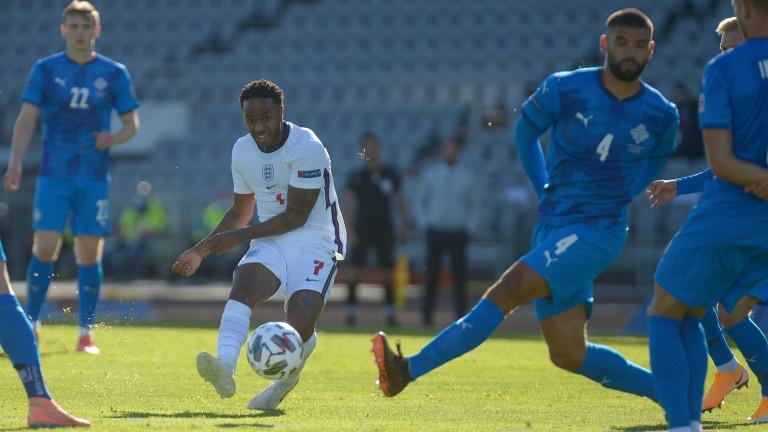 Националният отбор на Англия успя да победи домакина си Исландия