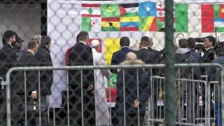 Папата осъди атаките в Брюксел