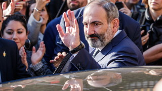 Пашинян води на изборите в Армения