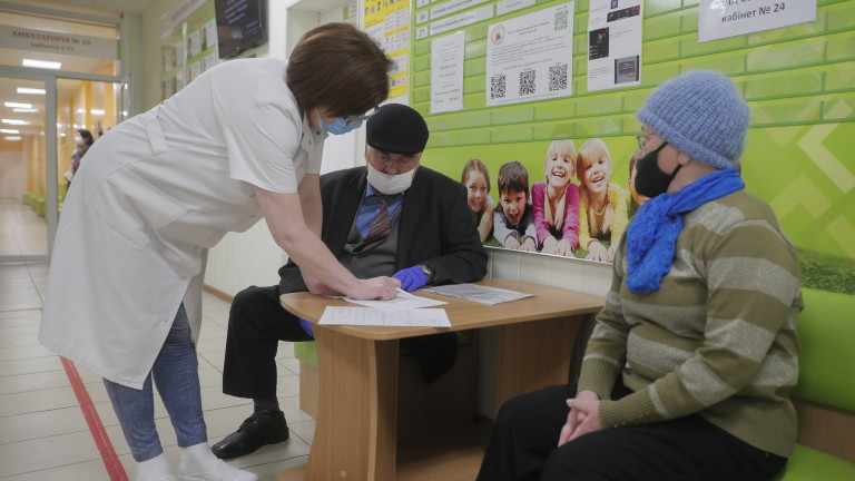 Украйна отчете рекордни 20 341 нови случая на коронавирус
