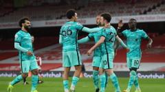 Ливърпул напомни за себе си с футболен рецитал срещу Арсенал