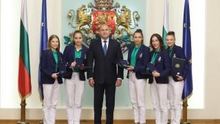 Румен Радев награди българските олимпийци