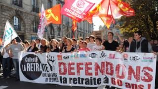 Франция протестира, Саркози непреклонен