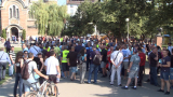 """Ядосани на МВР-шефката, протестиращи полицаи запяха """"Няма такава държава"""""""