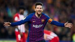 Лионел Меси на два гола от Кристиано Роналдо, португалецът има 120 мача повече
